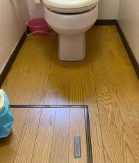 トイレ床リフォーム