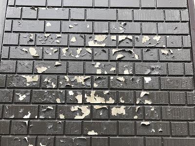 外壁改修工事前