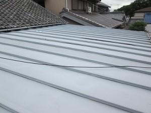 サンブキ屋根改修