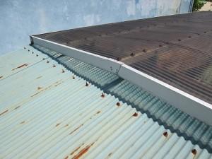 物置屋根補修