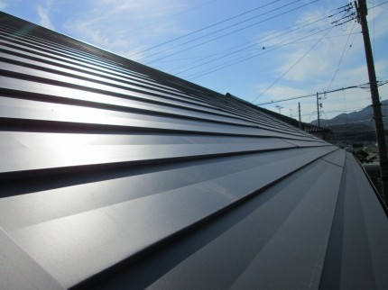 軽い金属屋根