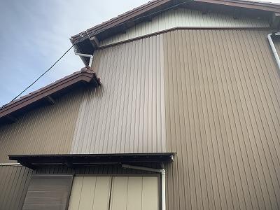 外壁修理(台風被害)