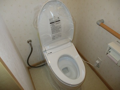 トイレ取替