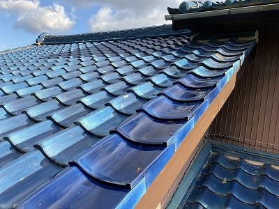 台風屋根修理