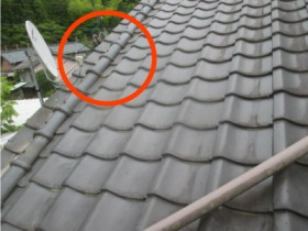 瓦屋根修理工事