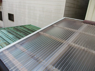 テラス屋根張替