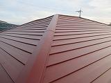 軽い金属屋根 施工後