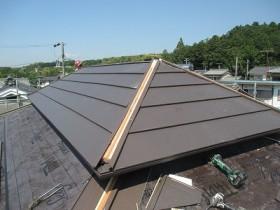 カラーベスト屋根改修工事