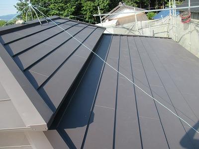 カラーベスト屋根改修