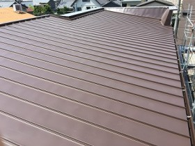 屋根改修工事 施工後