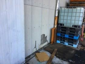 スレート壁取替