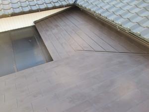 一文字葺屋根改修工事!