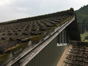 瓦屋根改修