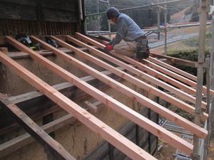 下屋根垂木