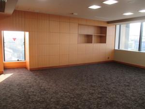 新城市新庁舎市長室