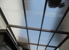 テラス屋根張替え