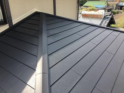 カラーベスト屋根カバー工事