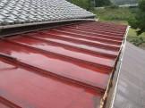 桟葺き屋根