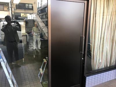 自動ドア引戸取替