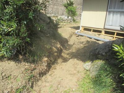 雨樋の排水