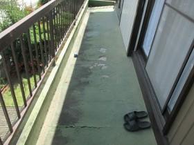 防水の剥がれ・劣化