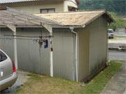 新城市海老 H様邸車庫屋根・外壁改修工事