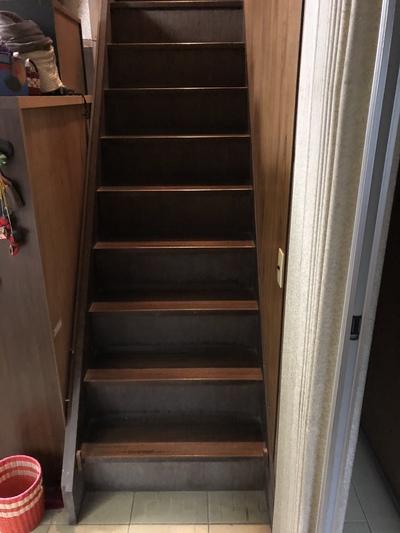 階段手すり1