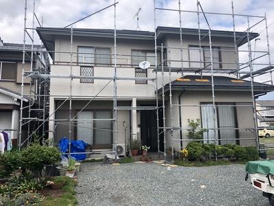 屋根、外壁のカバー工事