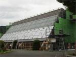 新城市作手中学校体育館  外壁改修工事
